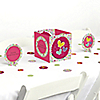 Playful Butterfly and Flowers - Birthday Party Centerpiece & Table Decoration Kit