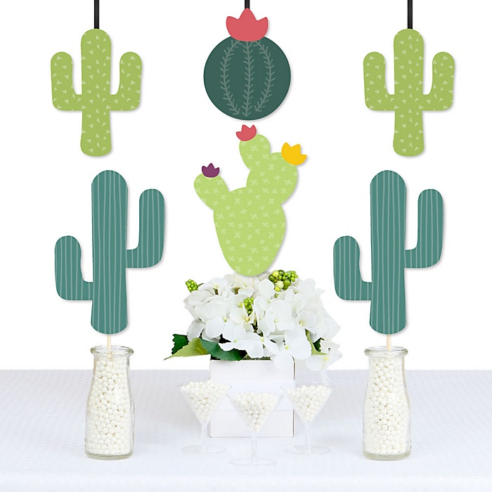 Prickly Cactus Party - Decorations DIY Fiesta Party Essentials - Set of 20