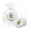 Prickly Cactus Party - Personalized Fiesta Party Lip Balm Favors - Set of 12