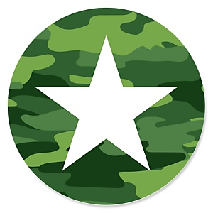 Camo Hero - Army Military Camouflage Party Theme