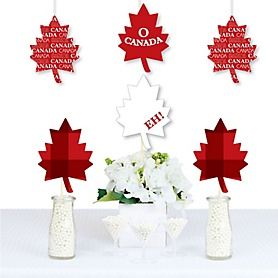 Canada Day - Maple Leaf Decorations DIY Canadian Party Essentials - Set of 20