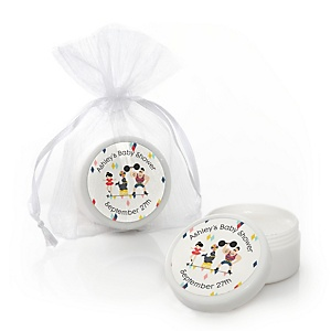 Carnival - Cirque du Bebe - Personalized Baby Shower Lip Balm Favors - Set of 12
