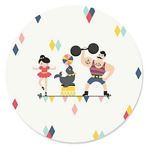 Circus / Carnival - Cirque du Soirée - Birthday Party Theme