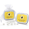 Neutral Baby Carriage - Personalized Baby Shower Mint Tin Favors