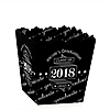 Graduation Cheers - Party Mini Favor Boxes - Personalized 2018 Graduation Treat Candy Boxes - Set of 12