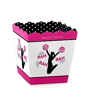 We've Got Spirit - Cheerleading - Party Mini Favor Boxes - Personalized Birthday Party or Cheerleader Party Treat Candy Boxes - Set of 12