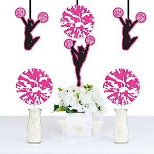 We've Got Spirit - Cheerleading - Decorations DIY Birthday Party or Cheerleader Party Essentials - Set of 20