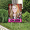 We Got Spirit - Cheerleading - Photo Yard Sign - Birthday Party or Cheerleader Party Decorations