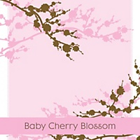 Baby cherry blossom baby shower cupcake picks bigdotofhappiness other baby cherry blossom products you may like filmwisefo