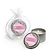 Cherry Blossom - Personalized Bridal Shower Candle Tin Favors