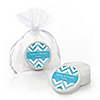 Chevron Blue - Personalized Everyday Party Lip Balm Favors