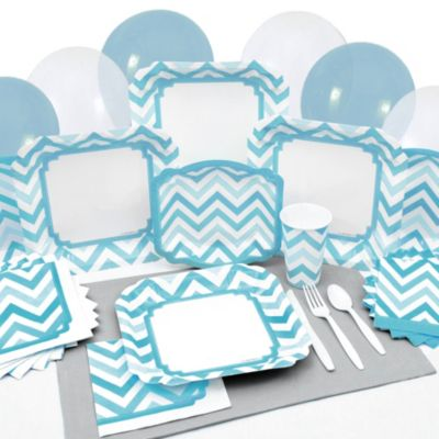Chevron Blue - Everyday Party Tableware  sc 1 st  Big Dot of Happiness & Baptism Tableware | BigDotOfHappiness.com