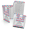 Chevron Gender Reveal - Baby Shower Game Pack - 5 Games in 1 - Fabulous 5 - Set of 12