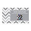 Chevron Gray - Personalized Everyday Party Game Scratch Off Cards - 22 ct