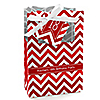 Chevron Red - Personalized Birthday Party Favor Boxes