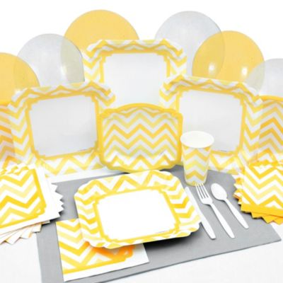 Chevron Yellow - Everyday Party Tableware  sc 1 st  Big Dot of Happiness & Baptism Tableware | BigDotOfHappiness.com