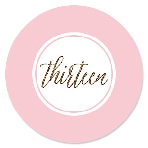 Chic 13th Birthday - Pink, Black and Gold - Birthday Party Theme