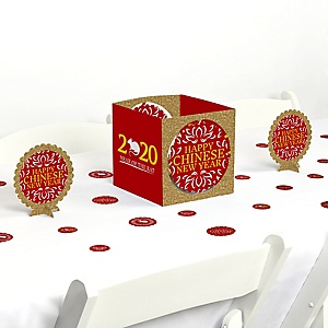 Chinese New Year - 2020 Year of the Rat Party Centerpiece and Table Decoration Kit