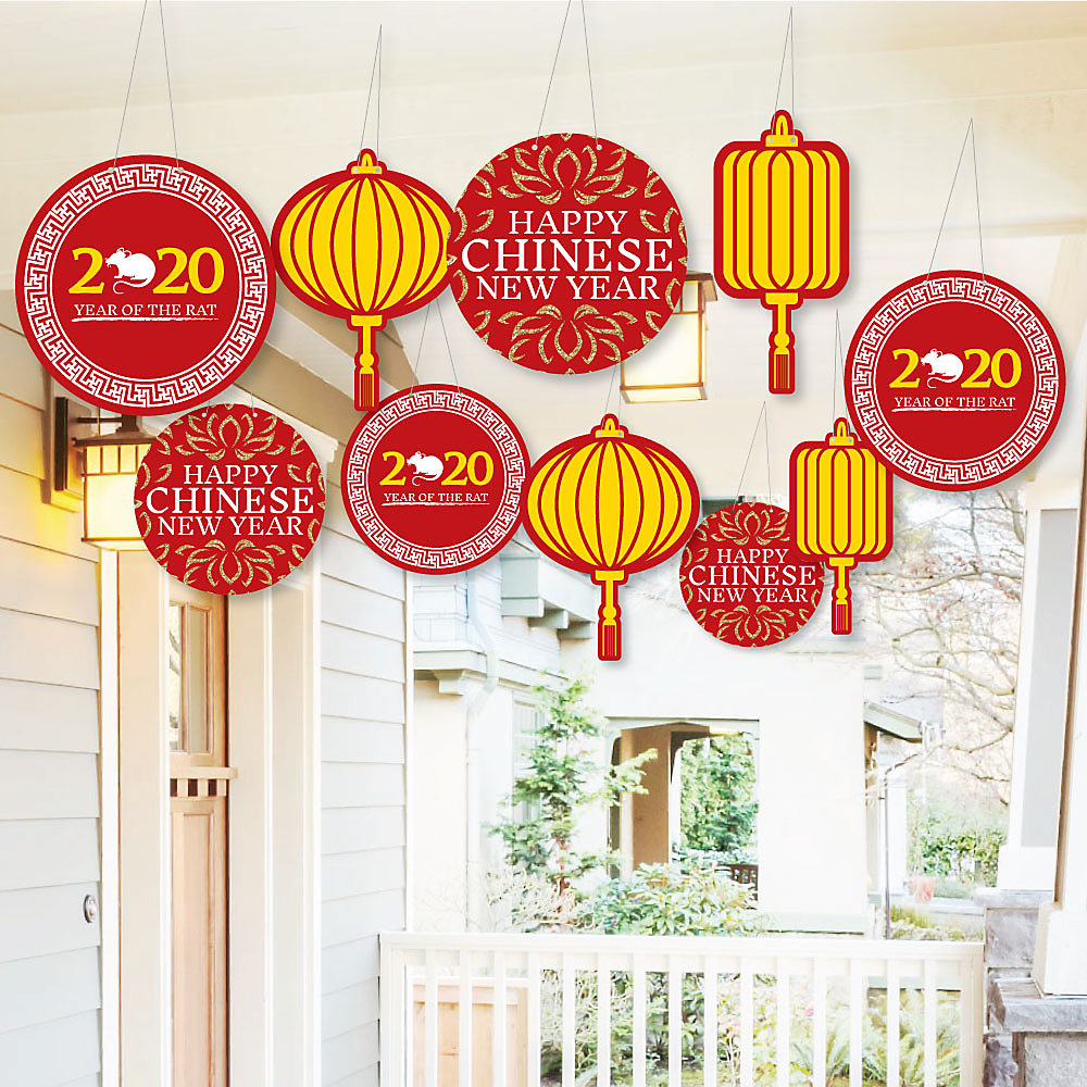 Chinese New Year Decorations 2020 Rat - Things Decor Ideas