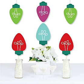 Christmas Light Bulbs - Decorations DIY Holiday Party Essentials - Set of 20