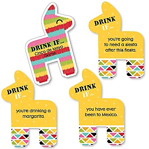 Cinco de Mayo  - Drink If Mexican Fiesta Party Game - Set of 24