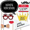 Class Reunion - 20 Piece Photo Booth Props Kit