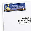 Construction Truck - Personalized Baby Shower Return Address Labels - 30 ct