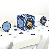 Construction Truck - Baby Shower Centerpiece & Table Decoration Kit