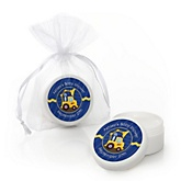 Construction Truck - Personalized Baby Shower Lip Balm Favors