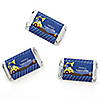 Construction Truck - Personalized Baby Shower Mini Candy Bar Wrapper Favors - 20 ct