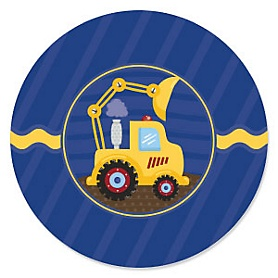 Construction Truck - Baby Shower Theme