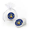 Construction Truck - Personalized Birthday Party Lip Balm Favors