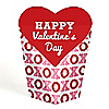 Conversation Hearts - Valentine's Day Party Favors - Gift Favor Boxes for Women and Kids - Set of 12