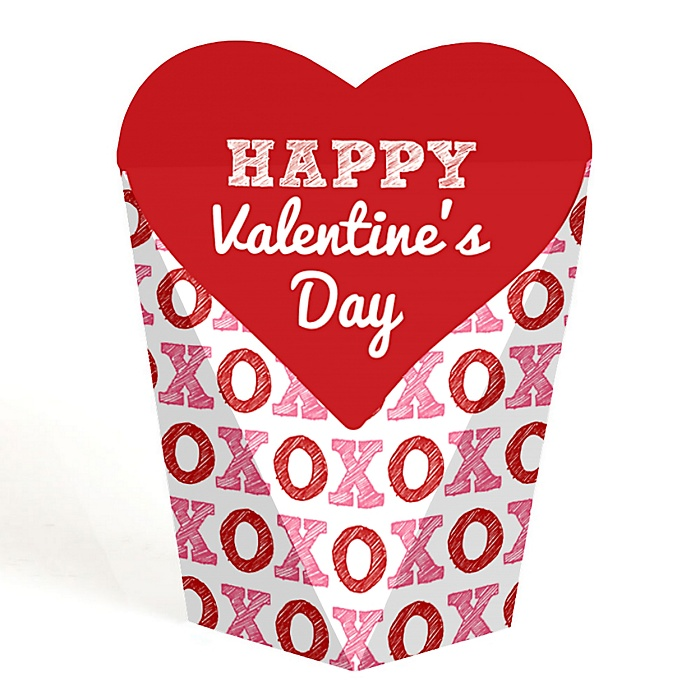 Conversation Hearts - Valentine's Day Party Favors - Gift Favor Boxes for Women & Kids - Set of 12