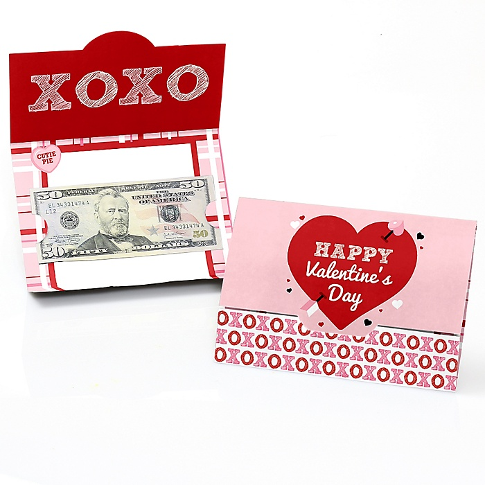Conversation Hearts - Valentine's Day Money and Gift Card Holders - Set of 8