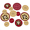 Little Cowboy - Western Personalized Baby Shower Table Confetti - 27 ct