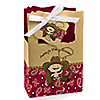 Little Cowboy - Western Personalized Baby Shower Favor Boxes