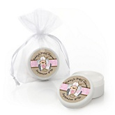 Little Cowgirl - Western Personalized Baby Shower Lip Balm Favors