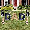 My Dad is Rad - Yard Sign Outdoor Lawn Decorations - Father's Day Yard Signs