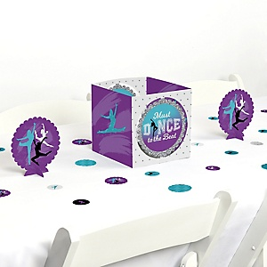 Must Dance to the Beat - Dance - Birthday Party or Dance Party Centerpiece and Table Decoration Kit