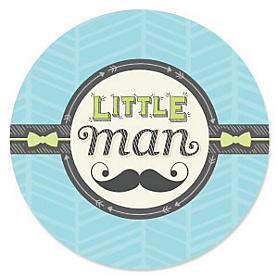 Dashing Little Man Mustache Party - Baby Shower Theme