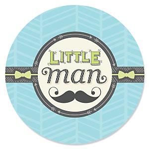 Dashing Little Man Mustache Party - Baby Shower Theme