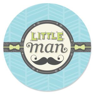 Great Dashing Little Man Mustache Party   Baby Shower Theme