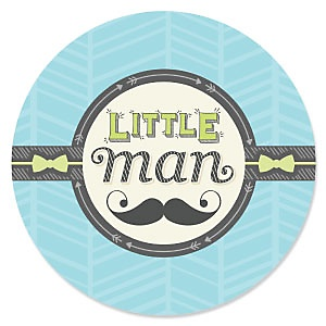 Dashing Little Man Mustache Party - Birthday Party Theme