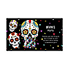 Day Of The Dead - Personalized Halloween Sugar Skull Party Scratch Off Cards - 22 Cards