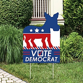Democrat Election - Party Decorations - Democratic Political 2020 Election Party Welcome Yard Sign