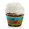 Dinosaur Birthday - Birthday Party Cupcake Wrappers & Decorations