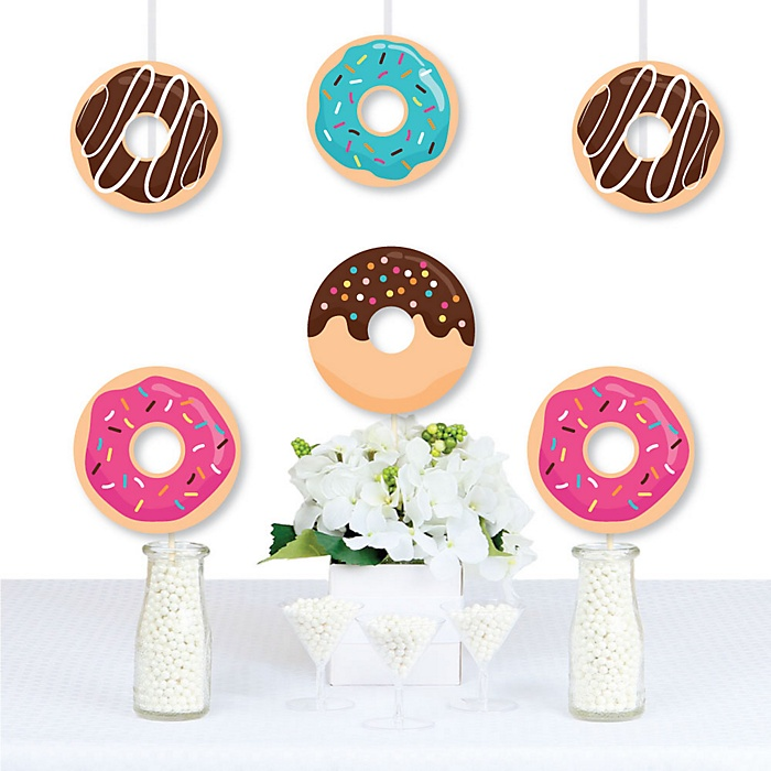Donut Worry, Let's Party - Decorations DIY Doughnut Party Essentials - Set of 20