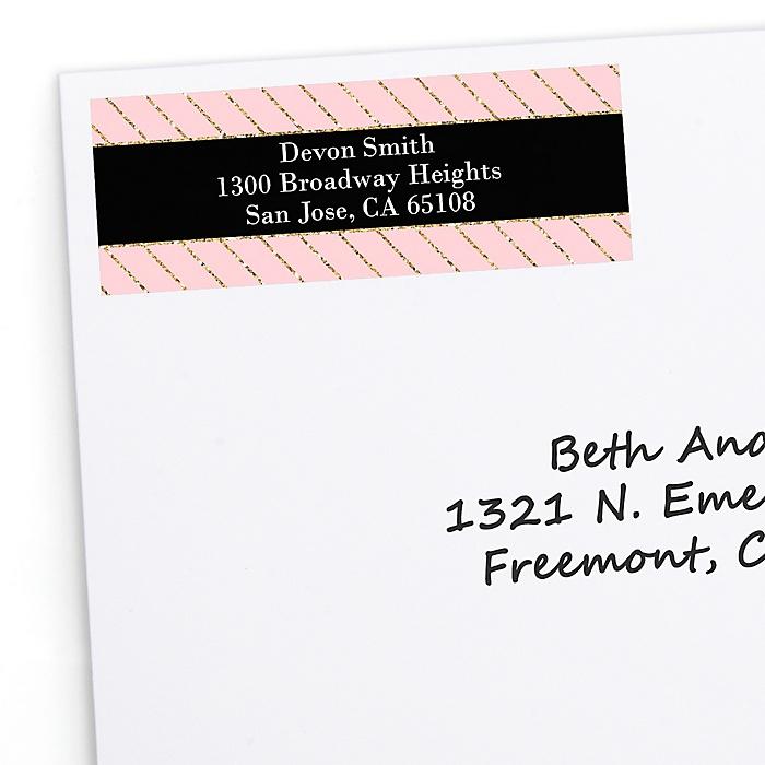 Dream Big - Personalized Graduation Return Address Labels - 30 ct