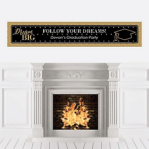 Dream Big - Personalized Graduation Banner